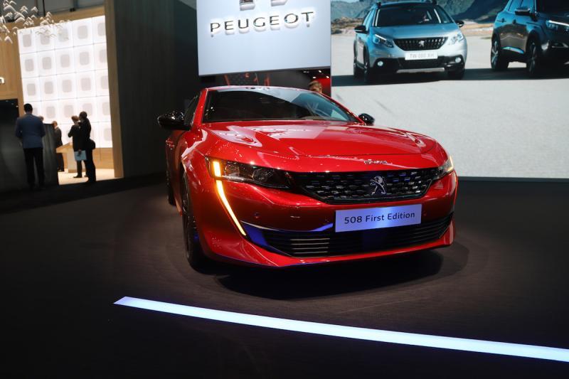 Peugeot 508 (2018)   nos photos depuis le salon de Genève 2018