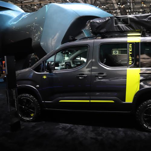 Peugeot Rifter 4x4 Concept | nos photos depuis le salon de Genève 2018