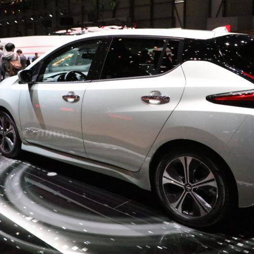 Nissan Leaf | nos photos depuis le salon de Genève 2018