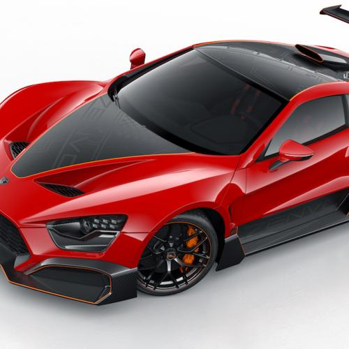 Zenvo TSR-S | les photos officielles de la supercar