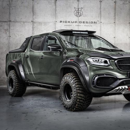 Mercedes Classe X Par Pickup Design et Carlex