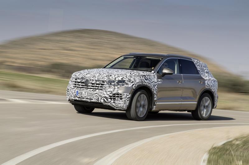 Volkswagen Touareg 2019 prototype