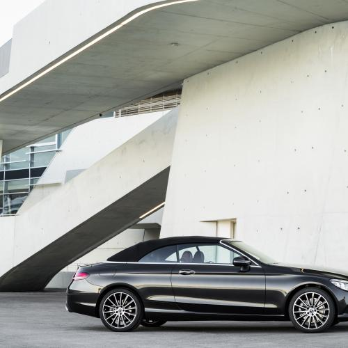 Mercedes Classe C cabriolet restylée (officiel - 2018)