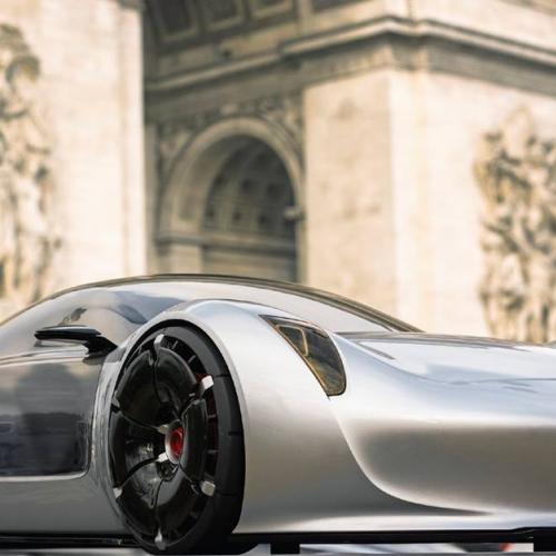 Porsche : 4 concepts inédits photographiés à Paris