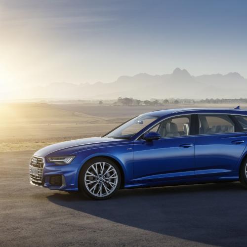 Audi A6 Avant (reveal - 2018)