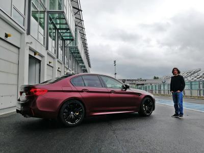 BMW M5 First Edition (essai - 2018)