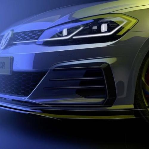 Volkswagen Golf GTI TCR (version route - teasers)