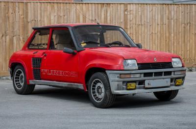 Renault 5 Turbo 2 (enchères Silverstone 2018)