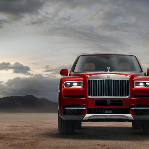 Rolls-Royce Cullinan (2018 - officiel)