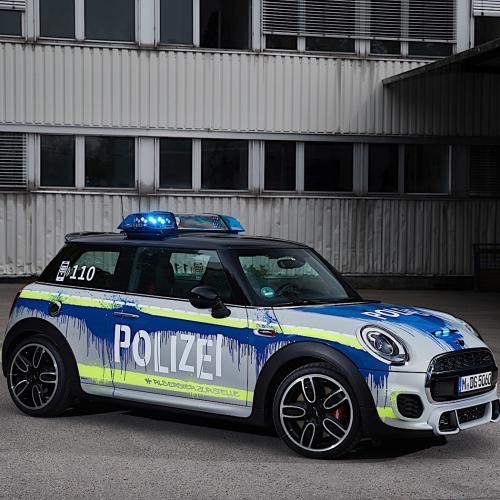 Mini JCW Polizei
