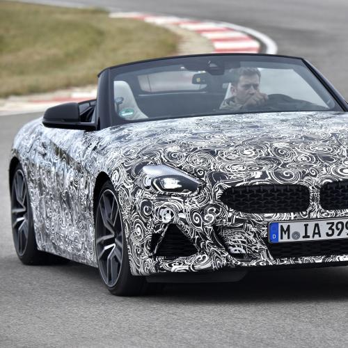 BMW Z4 Spyshots officiels (2018)