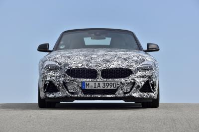BMW Z4 Spyshots officiels (2018)