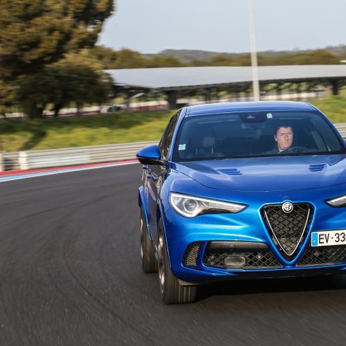 Alfa Romeo Stelvio Quadrifoglio (essai - 2018)