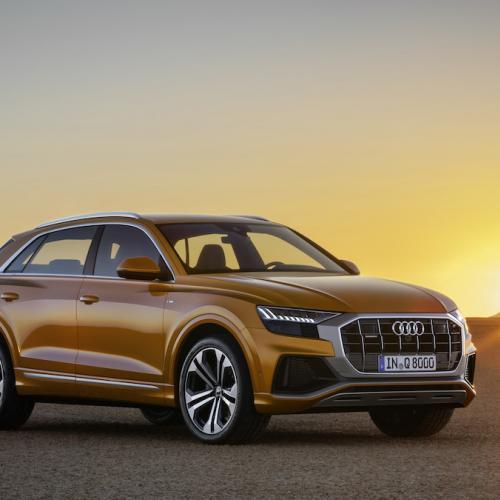 Audi Q8 (officiel - 2018)
