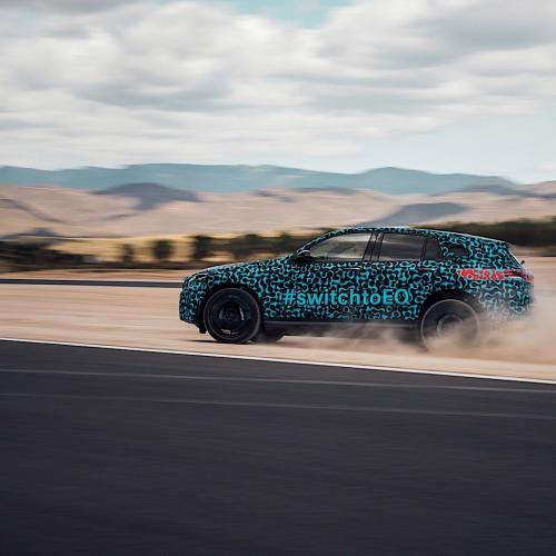 Mercedes EQC (officiel - prototype)