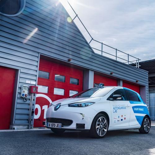 Renault ZOE Rouen Normandy Autonomous Lab