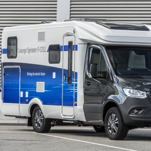Mercedes Sprinter F-Cell camping-car