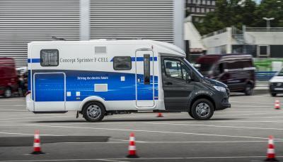 Mercedes Sprinter F-Cell camping-car
