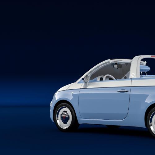 Fiat 500 Spiaggina par Garage Italia