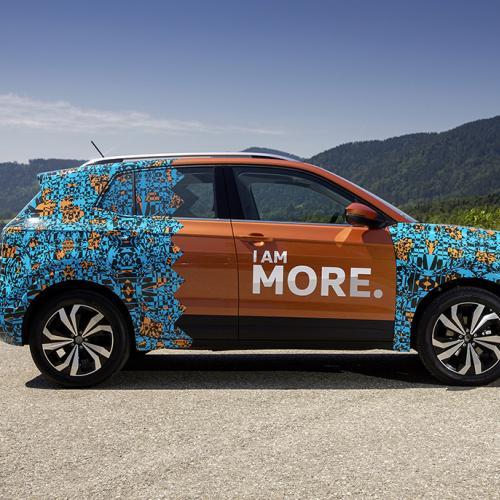 Volkswagen T-Cross (prototype - officiel)