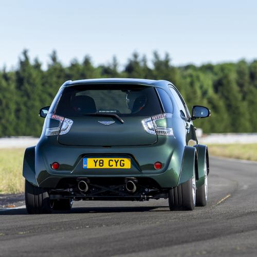 Aston Martin Cygnet V8 Concept | les photos officielles