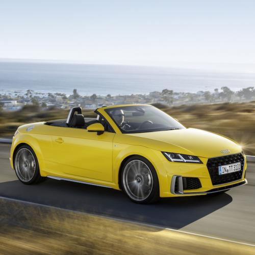 Audi TT restylée (2018) | les photos du roadster