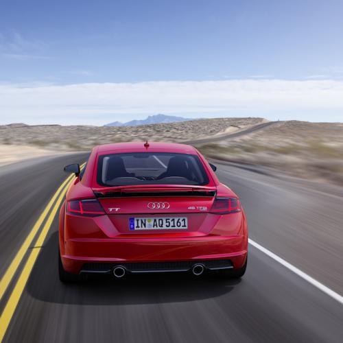 Audi TT restylée (2018) | les photos du coupé