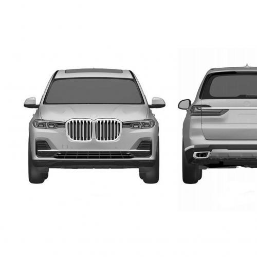 BMW X7 (rendus)