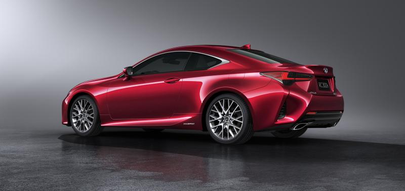 Lexus RC 2019 | Les photos officielles