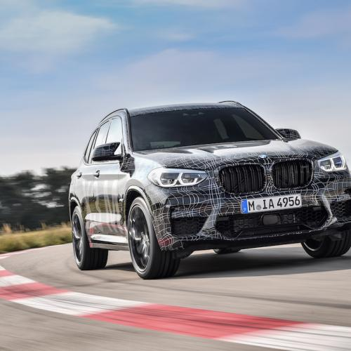 BMW X3 M | les photos officielles du prototypes
