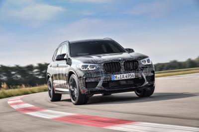 BMW X3 M | les photos officielles du prototypes