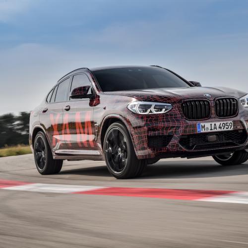 BMW X4 M   les photos officielles du prototype