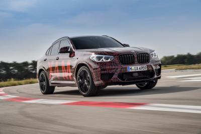 BMW X4 M | les photos officielles du prototype