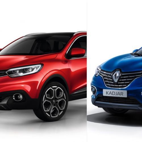 Renault Kadjar | la version restylée (2019) face à l'originale (2015)