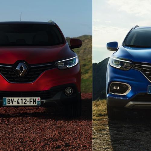 Renault Kadjar   la version restylée (2019) face à l'originale (2015)