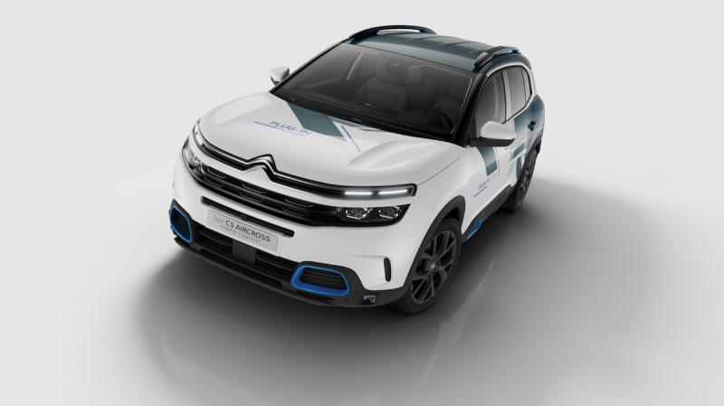 Citroën C5 Aircross Hybrid | les photos officielles du concept