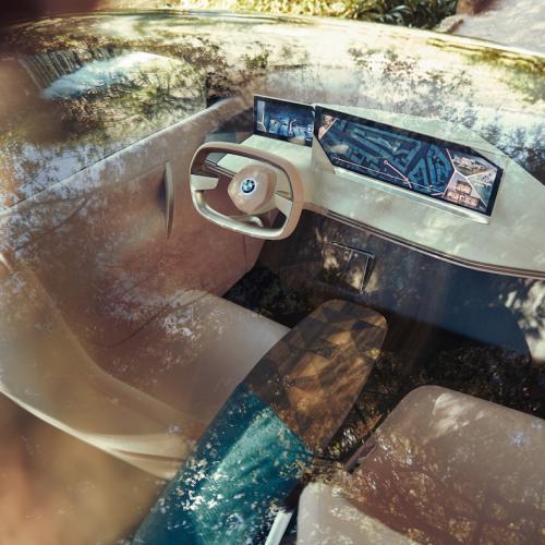 BMW Vision iNEXT | les photos officielles du véhicule électrique et autonome