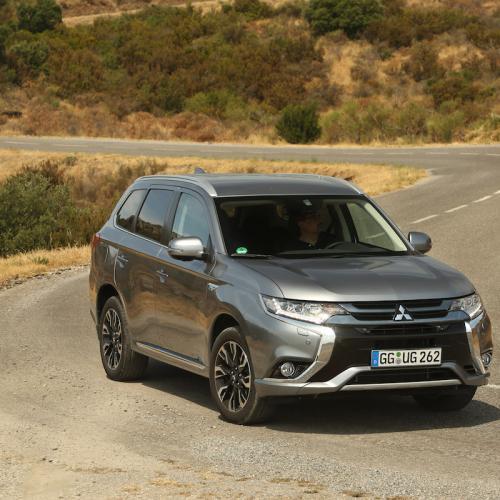 Mitsubishi Outlander PHEV | les photos officielles du SUV hybride