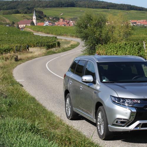 Mitsubishi Outlander PHEV 2019 - essai