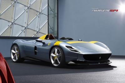 Ferrari Monza SP1 | les photos officielles