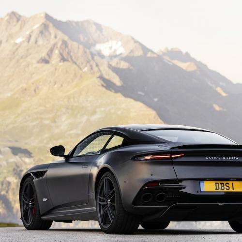 Aston Martin DBS Superleggera | les photos de la version Satin Xenon Grey