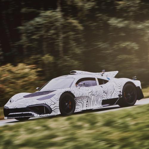 Mercedes-AMG Project ONE   les photos officielles du concept