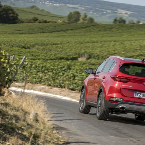 Kia Sportage restylé GT Line (2019 - officiel)