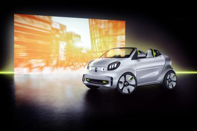 Smart Forease | les photos officielles du concept cabriolet