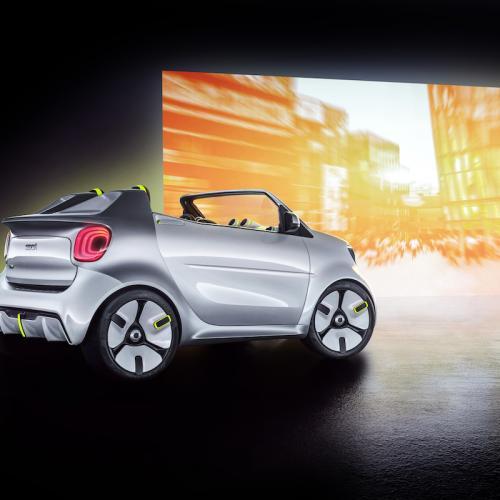 Smart Forease | les photos officielles du concept cabriolet
