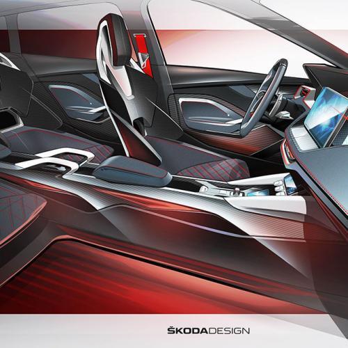 Skoda Vision RS   les storyboards de la compacte