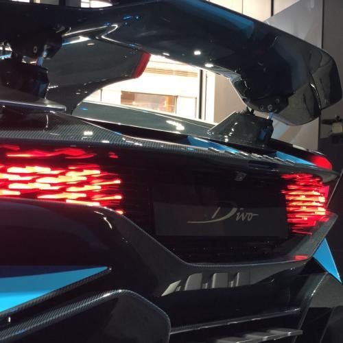 Bugatti Divo | premières photos de l'engin à 5 millions d'euros