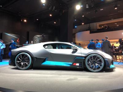 Bugatti Divo   premières photos de l'engin à 5 millions d'euros