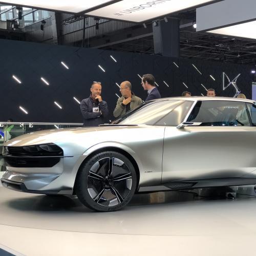 Peugeot e-Legend | nos photos depuis le Mondial de l'Auto 2018