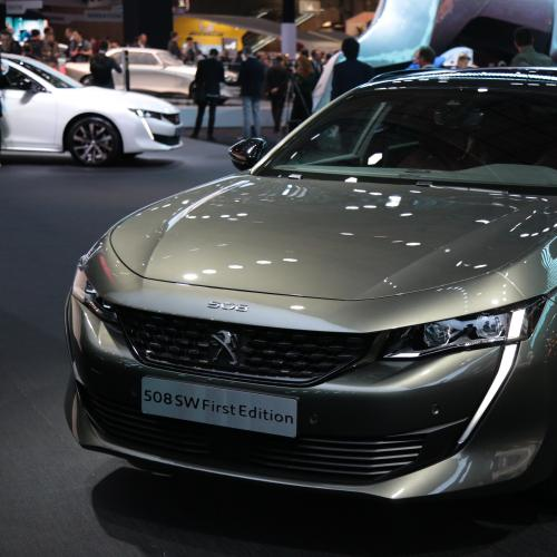Peugeot 508 SW First Edition | nos photos depuis le Mondial de l'Auto 2018